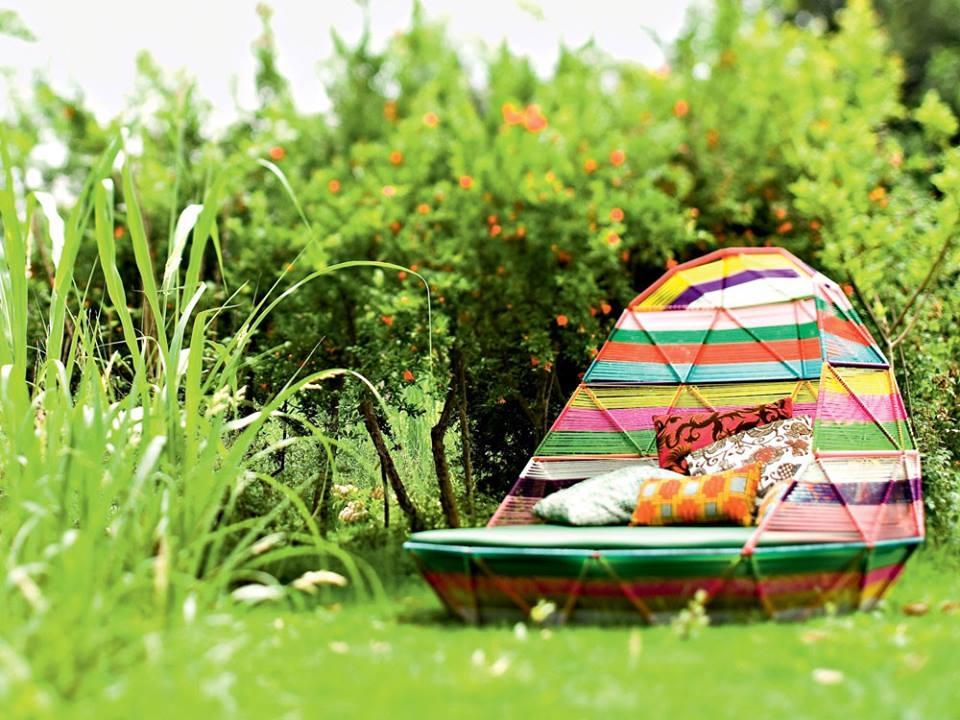 Daybed TROPICALIA - designer PATRICIA URQUIOLA 2008