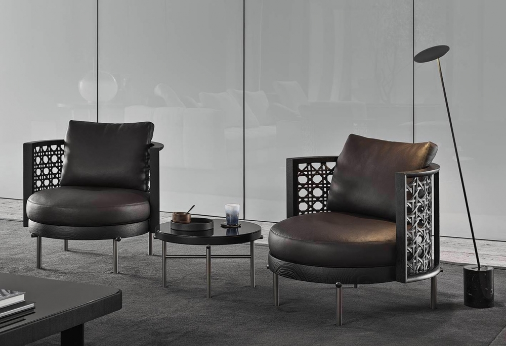 TORII NEST ARMCHAIRS by NENDO, designed in 2020