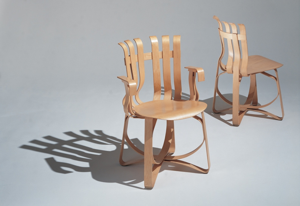 HAT TRICK™ CHAIR BY FRANK GEHRY 1990