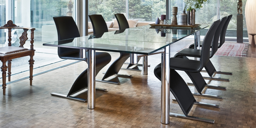 DINING TABLE CASANOVA 1400 BY GEORG APPELTSHAUSER 1998