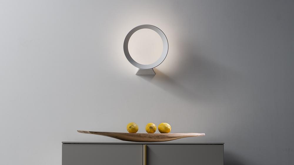 Wall lamp LED+O - designers MARCO DE SANTI and ALESSANDRO PAOLETTI