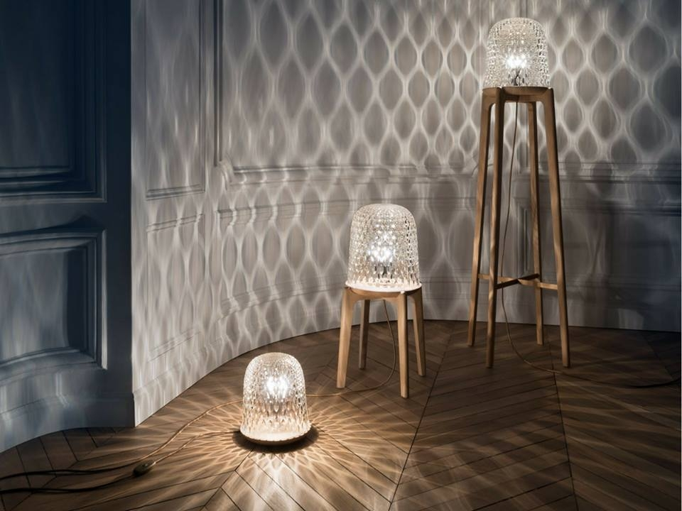 FOLIA - the radiance of crystal, the strenth of wood - designer NOÉ DUCHAFOUR-LAWRENCE