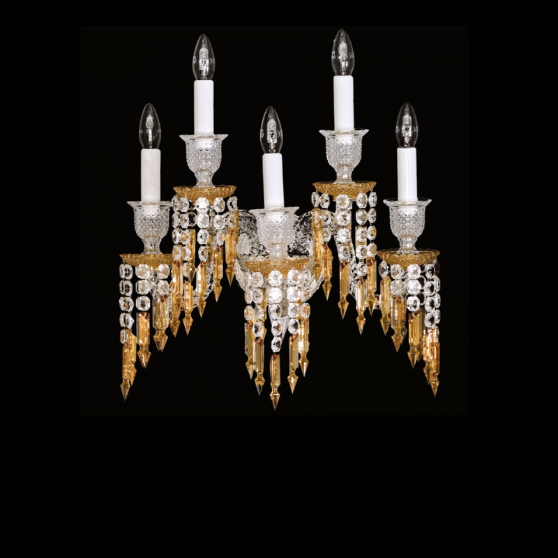 ZÉNITH wall sconce CHARLESTON. Charleston collection is inspired by the twenties' age of splendor and prosperity.