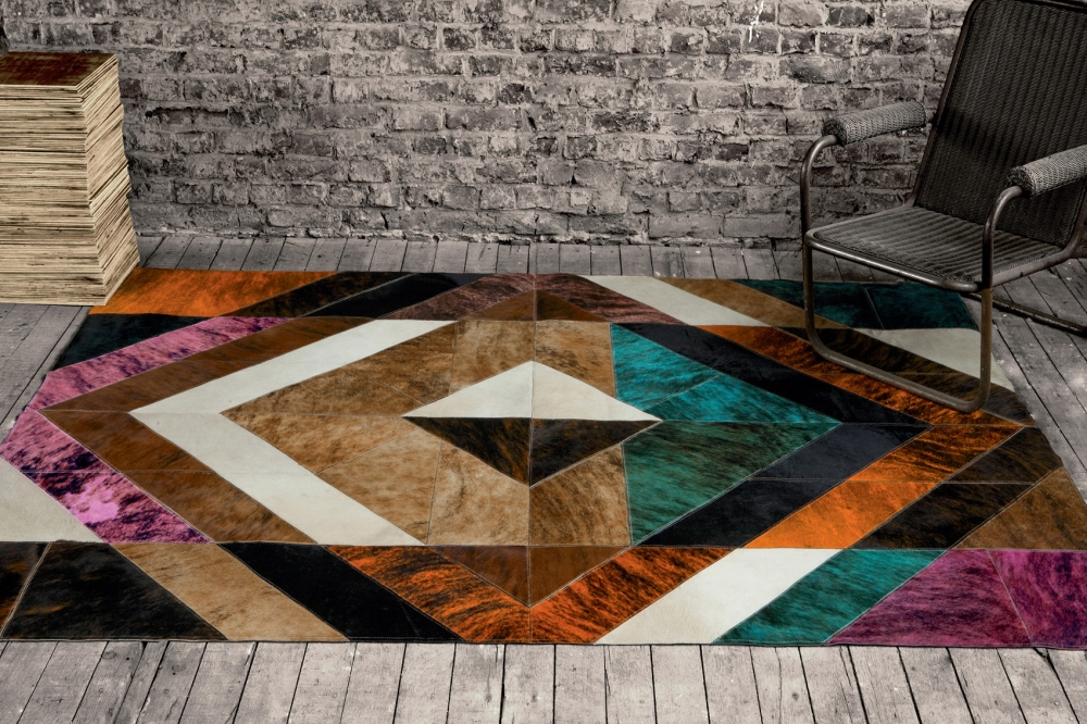 LEATHER RUG COLUMBIA