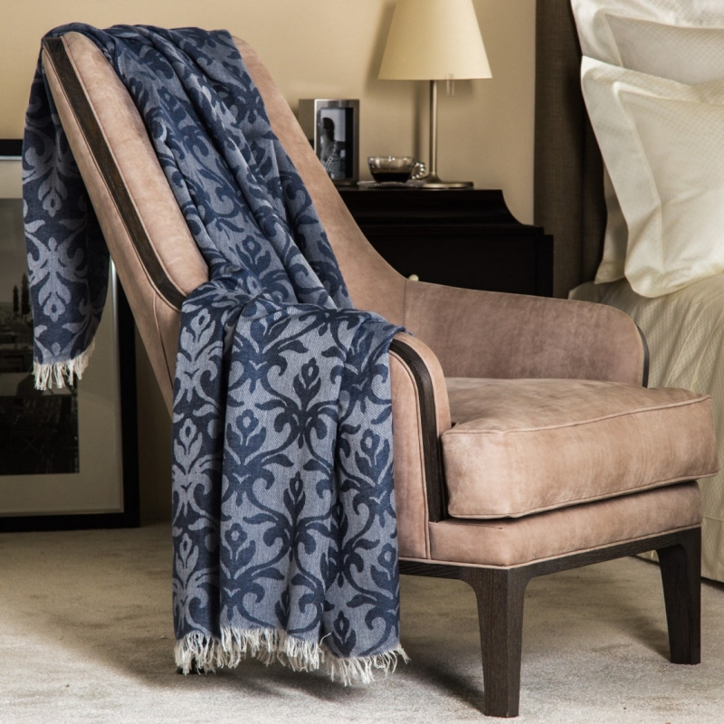 DESIGNED TO MEET A MULTITUDE OF NEEDS, WHETHER USED TO DRESS A BED, DRAPE A SOFA OR SIMPLY SNUGGLE INTO ON COOL EVENINGS