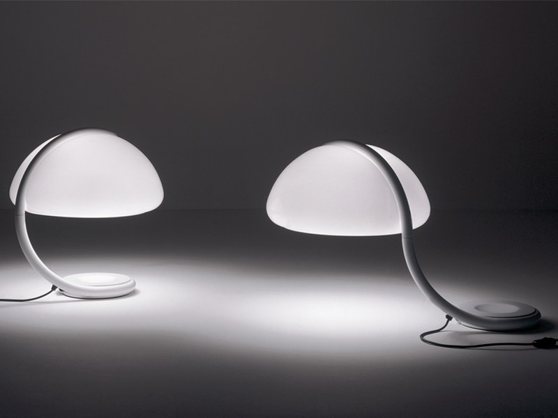 SWIVEL TABLE LAMPS SERPENTE - DESIGNER ELIO MARTINELLI