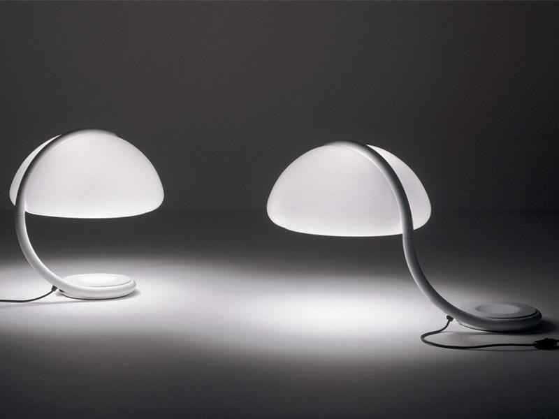 Swivel table lamps SERPENTE - designer ELIO MARTINELLI