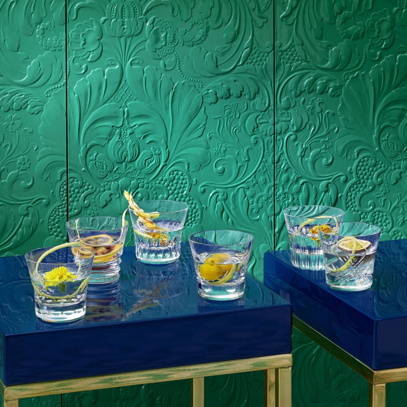 EVERYDAY BACCARAT CLASSIC. Perfect at any time of day to savor your drink of choice, from the morning juice to the afternoon soft drink to the pre-dinner spritz.  Discover the new EVERYDAY BACCARAT , a stunning collection of six perfectly crafted cut crystal glasses each with a different creative pattern. Perfect at any time of day to savor your drink of choice, from the morning juice to the afternoon soft drink to the pre-dinner spritz. The Everyday Baccarat box is the perfect gift for family, friends and for yourself. This box contains 6 tumblers: the BELUGA, ETNA, VEGA, BIBA, STELLAB and the ROSA measuring 8.5 cm.
