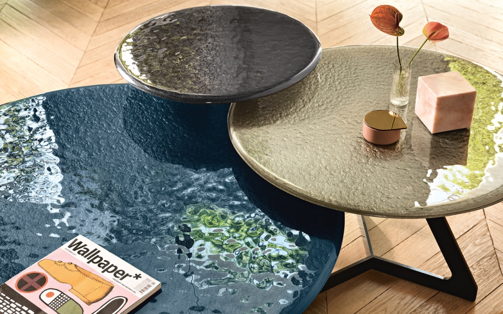COFFEE TABLES LAKE COLLECTION BY STUDIO KLASS.