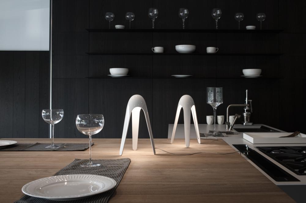 Table lamps CYBORG - designer KARIM RASHID
