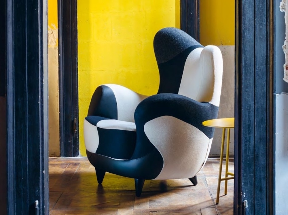 ALESSANDRA ARMCHAIR BY JAVIER MARISCAL, 1995