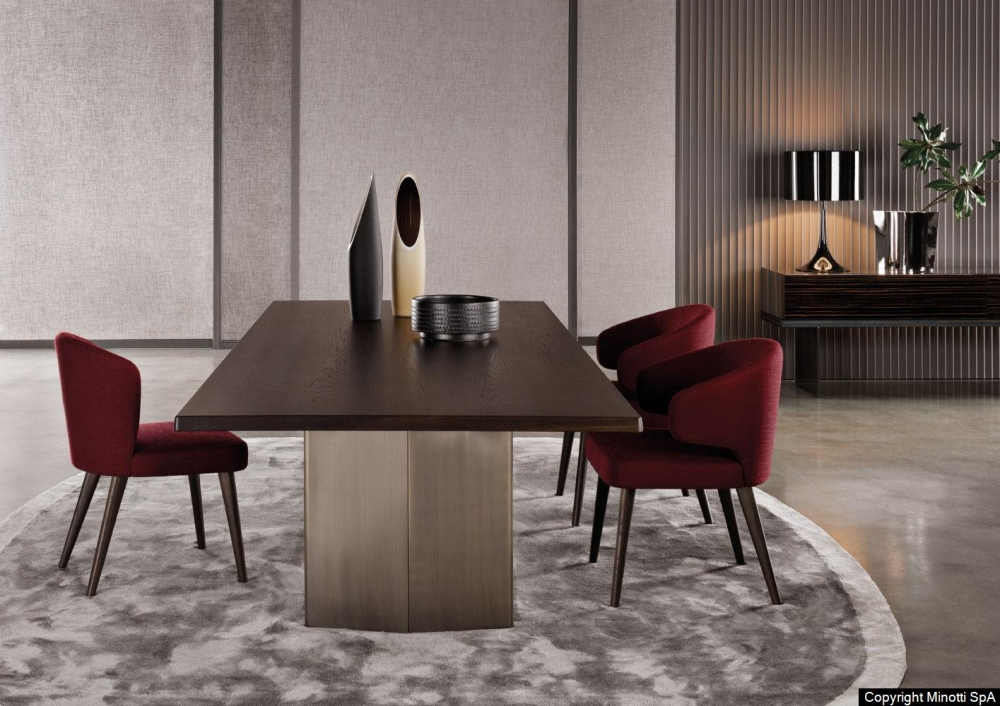 ASTON DINING CHAIR and LITTLE ARMCHAIR by RODOLFO DORDONI