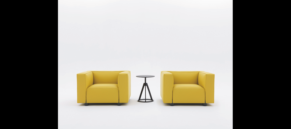 BARBER OSGERBY COMPACT ARMCHAIR AND SOFA BY EDWARD BARBER AND JAY OSGERBY 2014