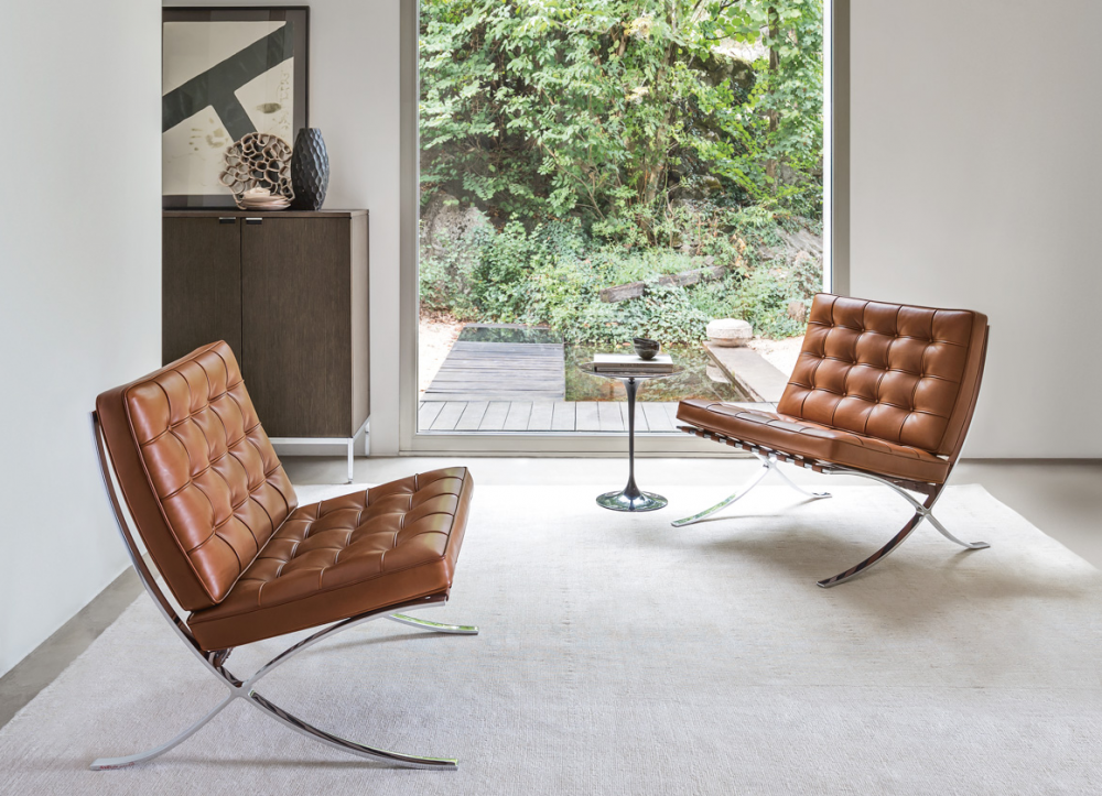 BARCELONA® CHAIR BY LUDWIG MIES VAN DER ROHE CA. 1929