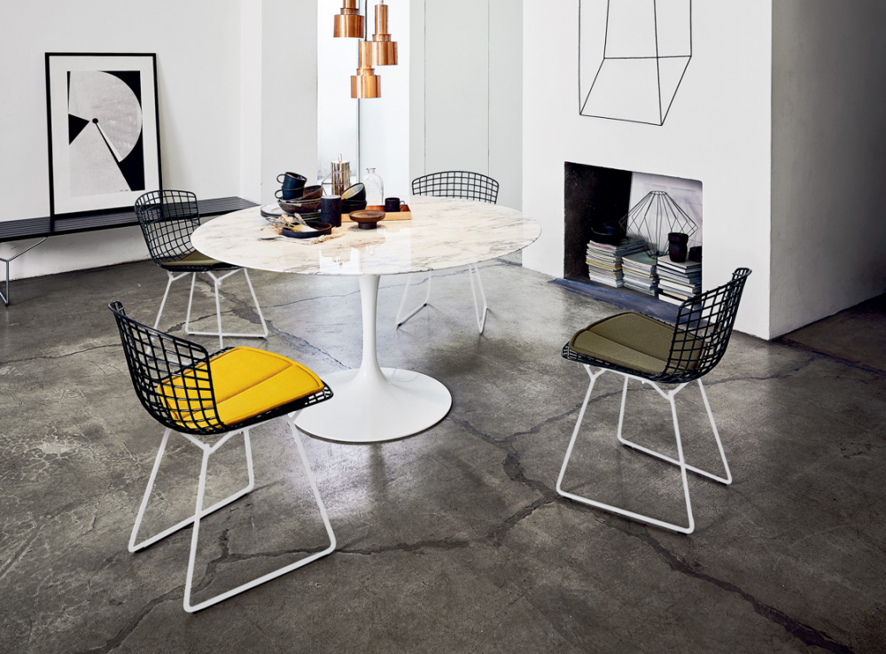BERTOIA SIDE CHAIR BY HARRY BERTOIA 1952