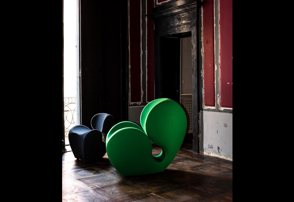 SOFT BIG HEAVY ARMCHAIR BY RON ARAD, 1991