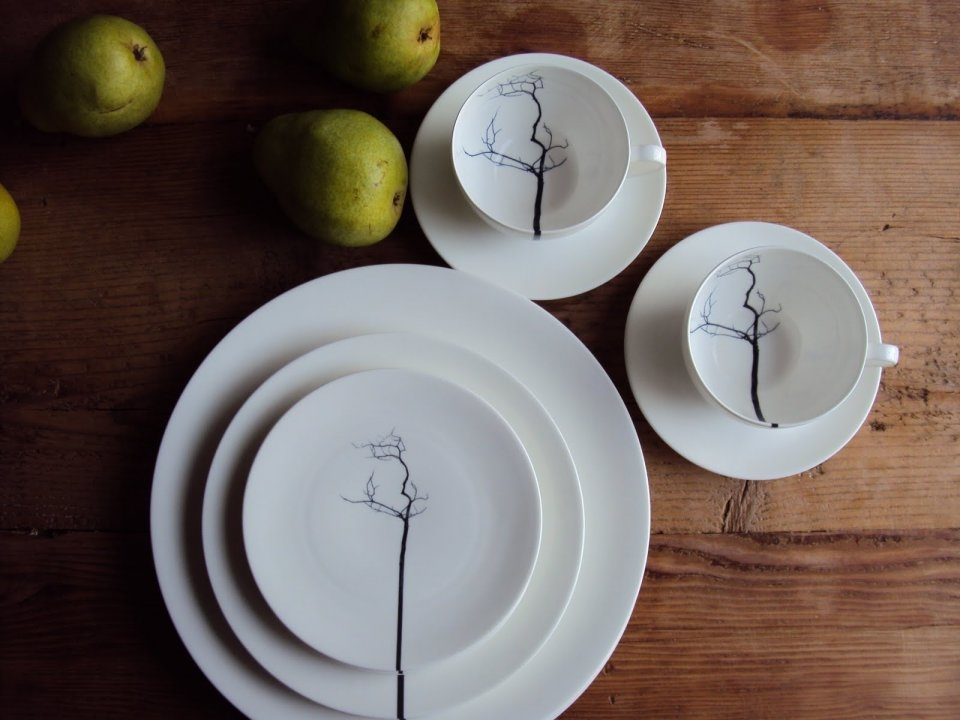 FINE BONE CHINA TABLEWARE BLACK FOREST - MADE IN GERMANY