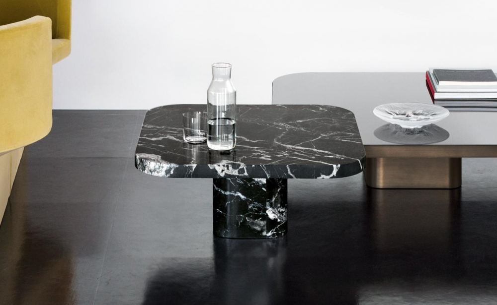 BOW COFFEE TABLE NO. 3 MARBLE BY GUILHERME TORRES 2019