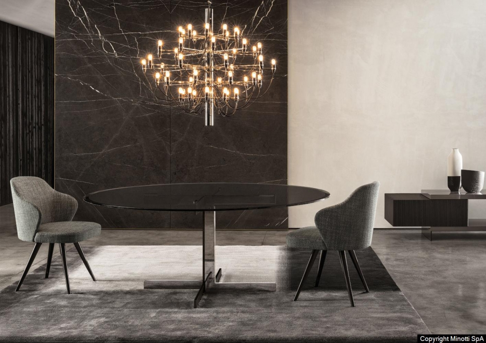 CATLIN DINING TABLE by RODOLFO DORDONI