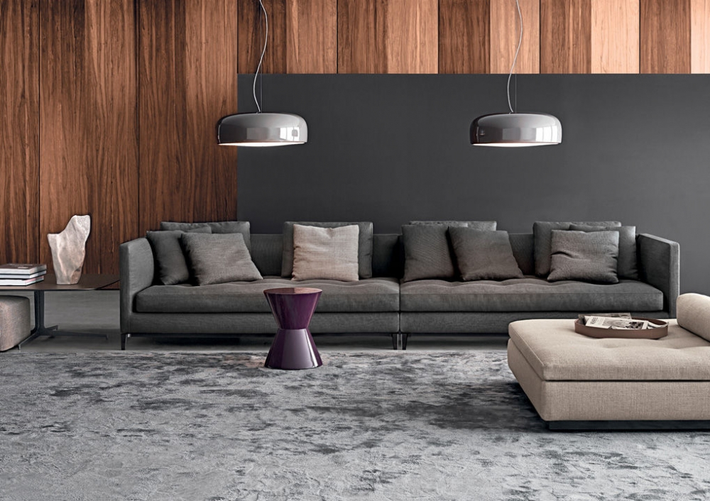 CESAR ACCENT TABLE by RODOLFO DORDONI, designed in 2004. Whether it presents itself as a side table, pouf or decor element, CESAR, with its eclectic personality and strong formal presence, has definitely joined the icons of MINOTTI, becoming an undisputed global best-seller. Designed by RODOLFO DORDONI in 2004, this year, the famous sculpture-object is turning this year 15 years old. For use in a group composition, or on its own, it comes in two different forms moulded in structural polyurethane, a material that cannot be deformed or altered. With a versatile range of uses, it is a true all-purpose piece of furniture, capable of migrating from the living area to the bedroom, from residential environments to those of the hospitality industry and even to workplaces. The story of CESAR has been told over the years through a vibrant palette of no less than 17 glossy lacquered finishes. In 2019, an important intervention on the colour scheme has entailed the addition of the powder pink colour to the current range of glossy colour variants and the introduction of three new shades - sage, bordeaux and mocha - in a brand new matt finish.