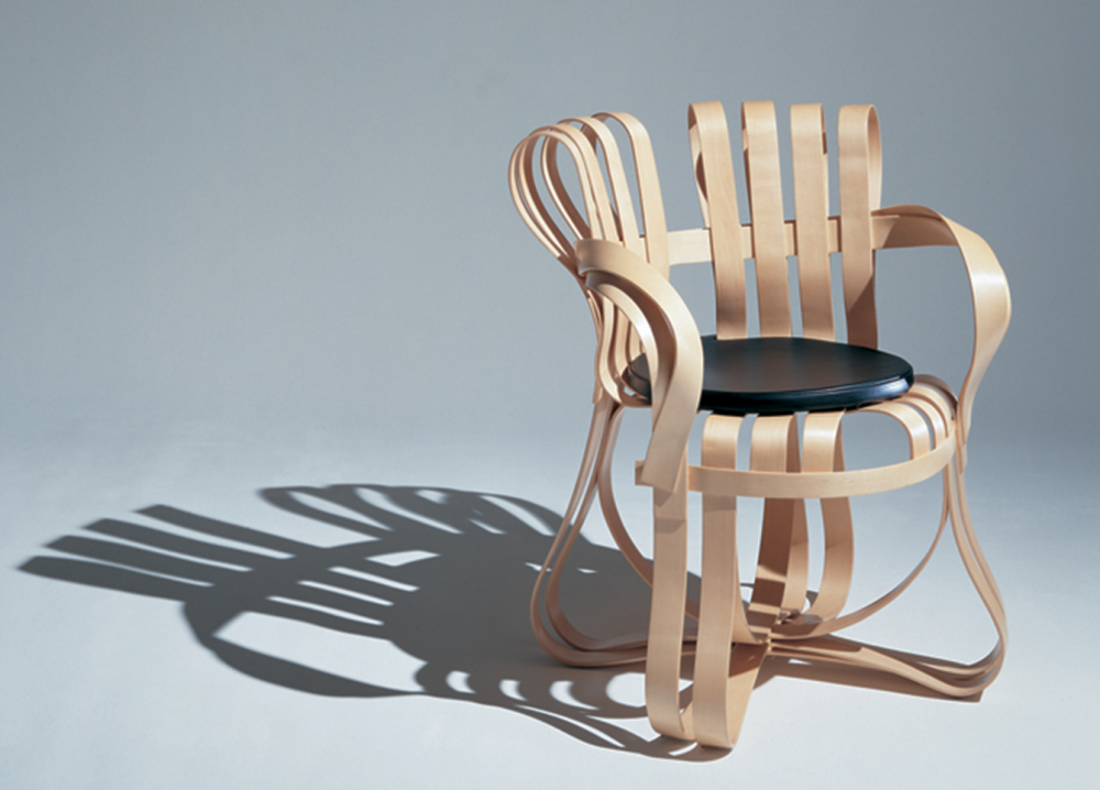 CROSS CHECK™ CHAIR BY FRANK GEHRY 1990