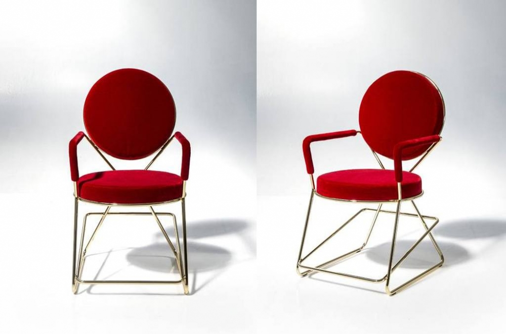 DOUBLE ZERO CHAIR BY DAVID ADJAYE, 2015