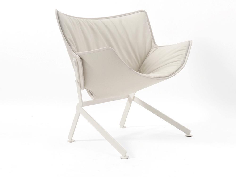 Upholstred armchair EL SANTO JIFFI - designer CHIRSTOPHE DE LA FONTAINE