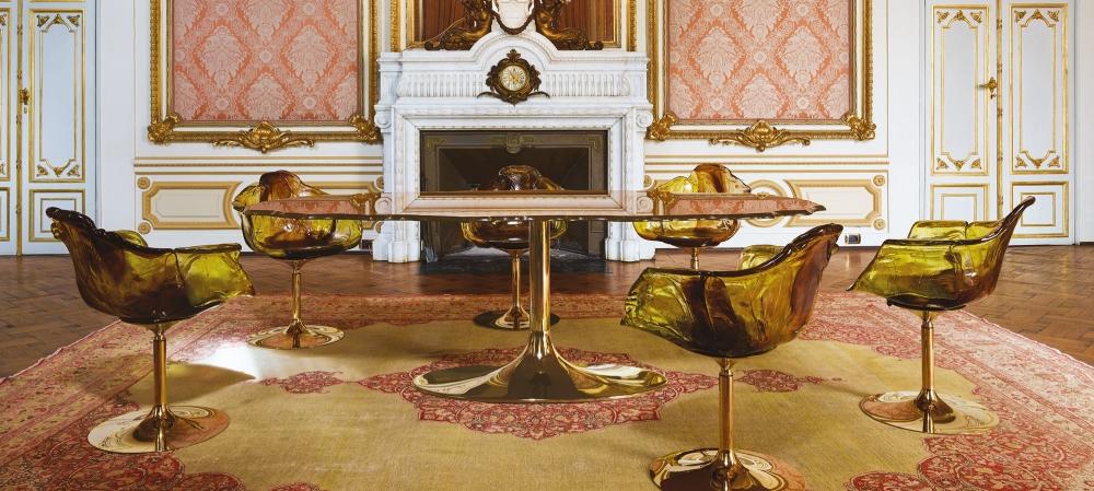 ELLA GOLD CHAIR BY JACOPO FOGGINI