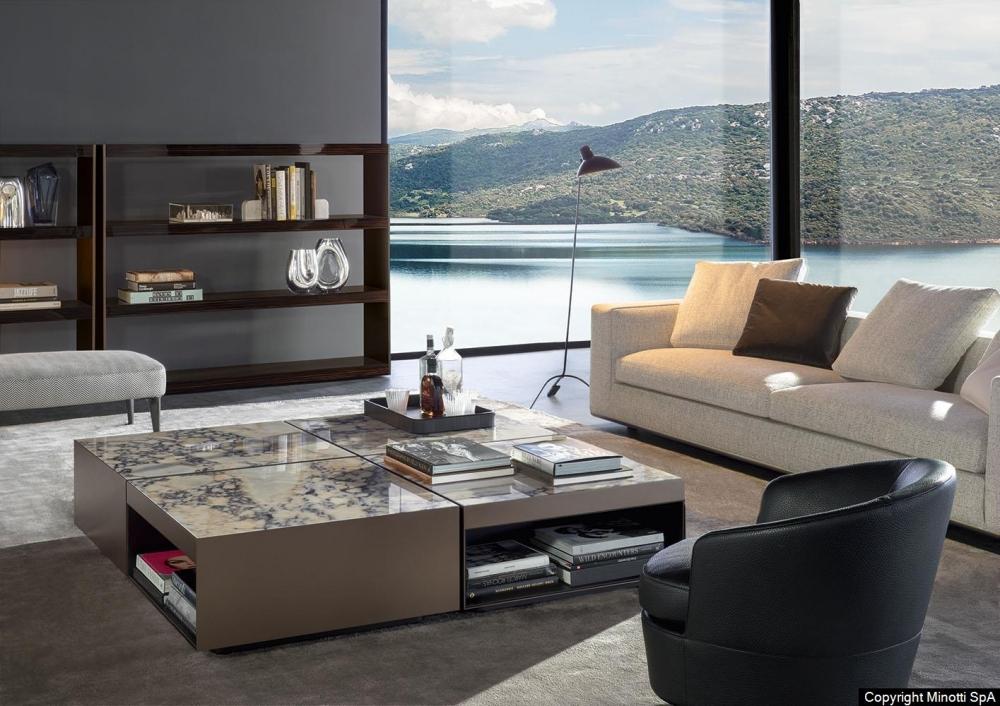 ELLIOTT coffee table by RODOLFO DORDONI