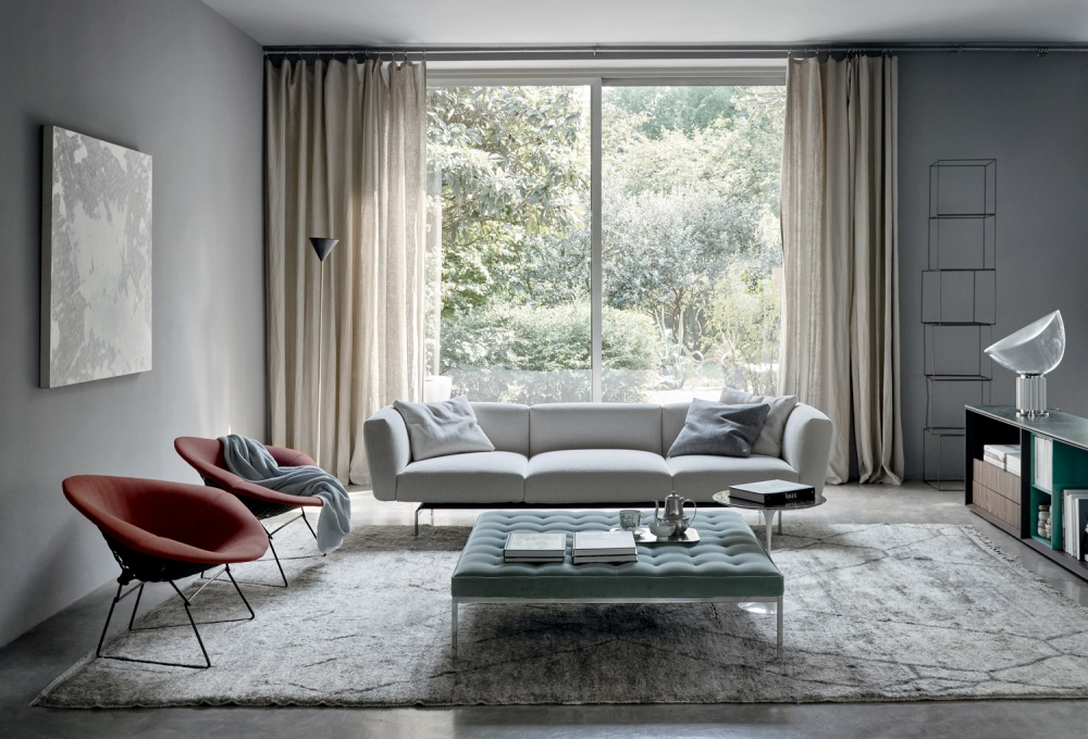 FLORENCE KNOLL RELAXED BENCHES BY FLORENCE KNOLL 1954