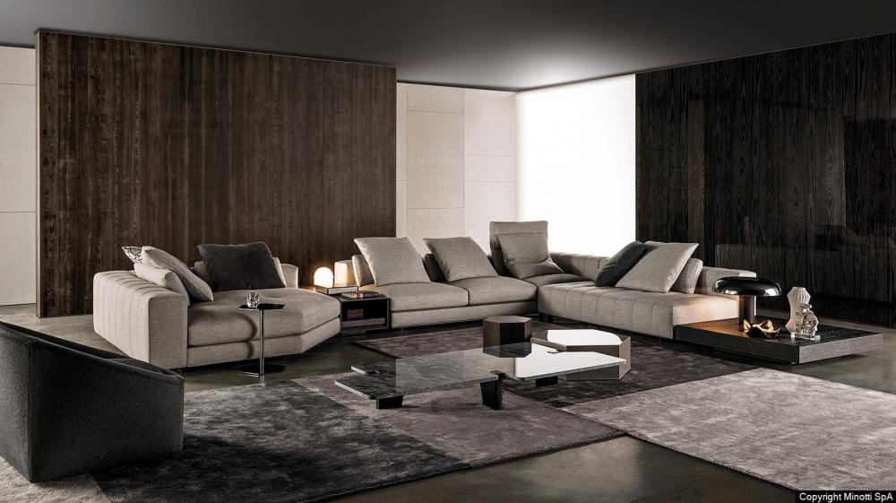 FREEMAN seating system by RODOLFO DORDONI