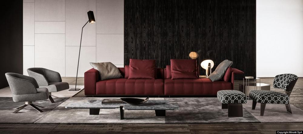 FREEMAN TAILOR seating system by RODOLFO DORDONI
