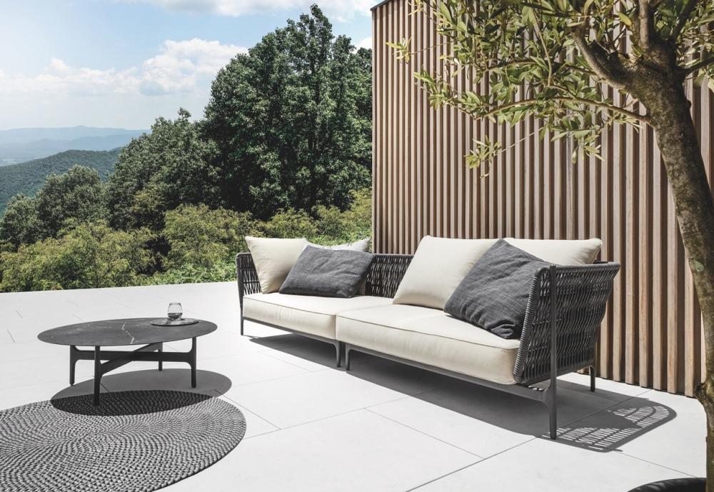 Lounge GRAND WEAVE - designer HENRIK PEDERSEN