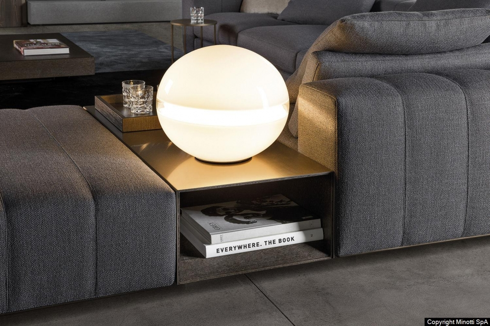 GRAY coffee table by RODOLFO DORDONI