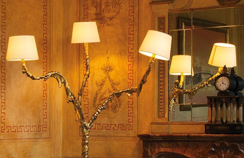 Floor lamp INES - designer JACOPO FOGGINI