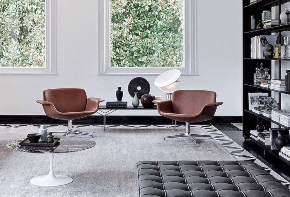 KN COLLECTION BY PIERO LISSONI – TO THIS COLLECTION ITALIAN MINIMALIST PIERO LISSONI BRINGS YET AGAIN HIS NUANCED SENSE OF PROPORTION AND EXQUISITE DETAILING.