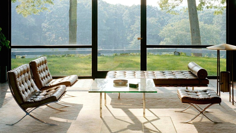 BARCELONA® TABLE BY LUDWIG MIES VAN DER ROHE CA. 1929