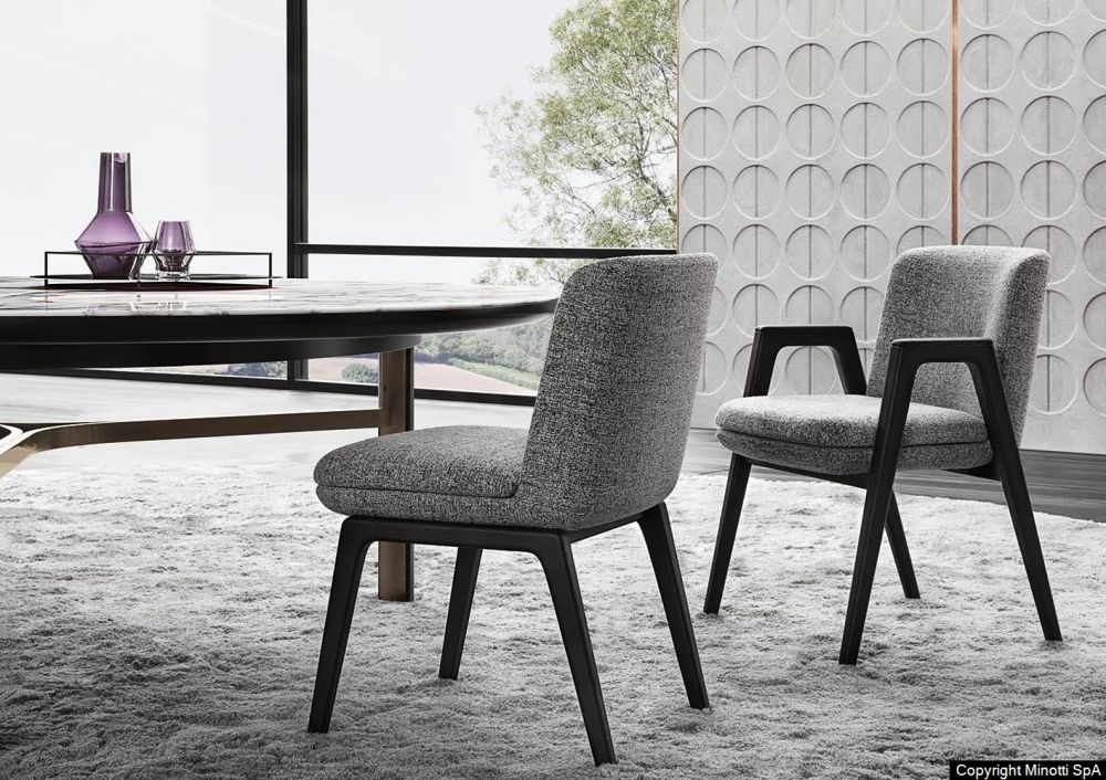LANCE LITTLE ARMCHAIR and CHAIR by RODOLFO DORDONI