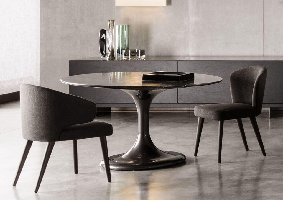 DINING TABLE NETO, CHAIRS ASTON, SIDEBOARD LANG - DESIGNER RODOLFO DORDONI