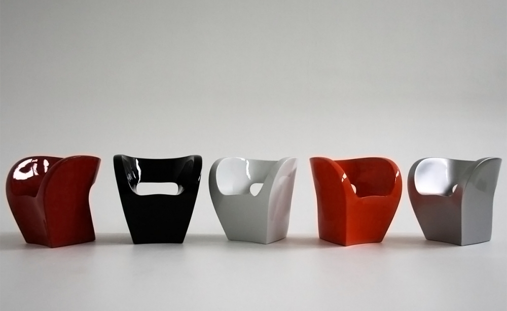 ARMCHAIR LITTLE ALBERT -DESIGNER RON ARAD 2000.