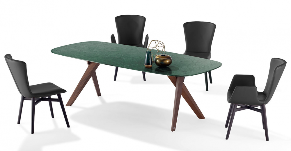 DINING TABLE LOPE 1541 BY WOLFGANG C. R. MEZGER 2017
