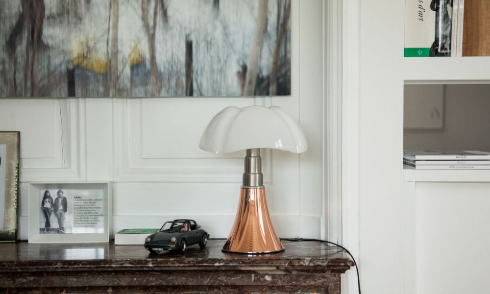 TABLE LAMP PIPISTRELLO - DESIGNER GAE AULENTI