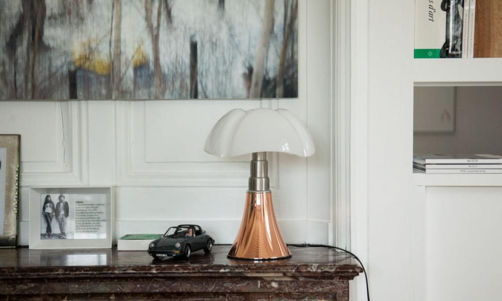 Table lamp PIPISTRELLO - designer GAE AULENTI