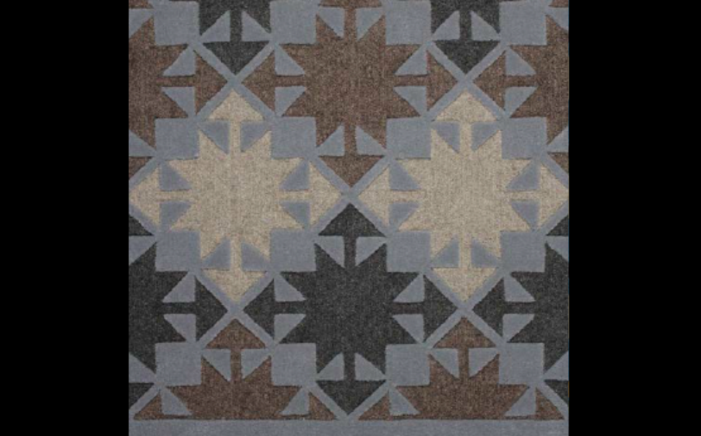 MAYAN I RUG OF 59% BERBER WOOL AND 41% WOOL BY EDWARD FIELDS