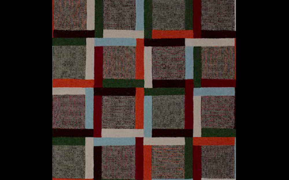 MIXED GRILL I RUG OF 100% WOOL BY EDWARD FIELDS