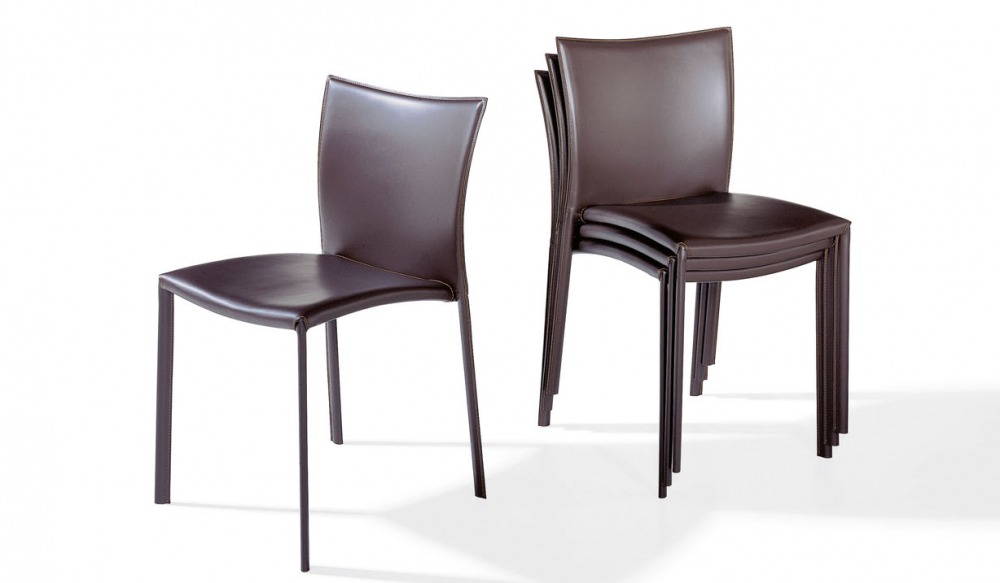 NOBILE STACKABLE CHAIR 2075 BY GINO CAROLLO 2007