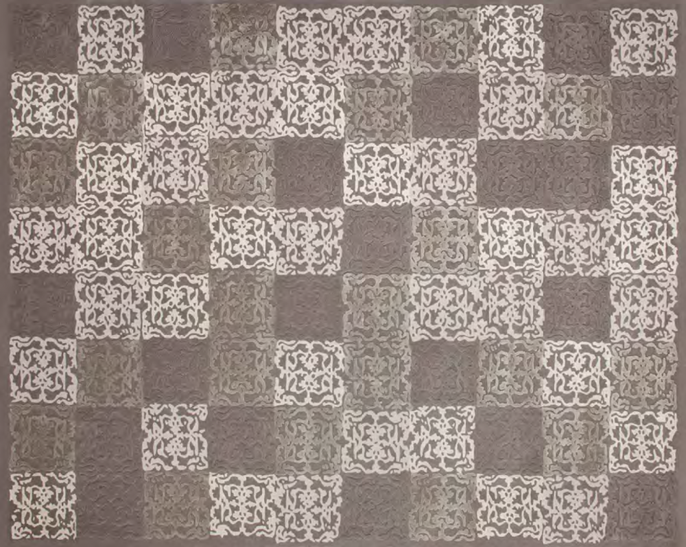 PHILYRA I RUG OF 77% WOOL AND 23% DULL SILK BY EDWARD FIELDS CARPET MAKERS
