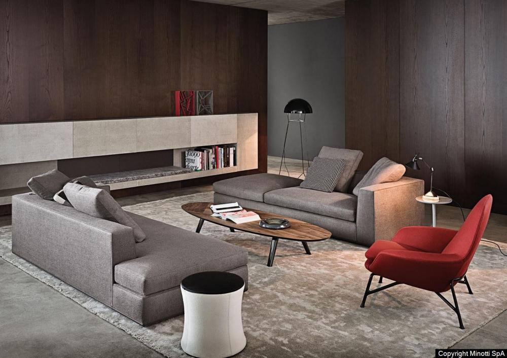POWELL seating system by RODOLFO DORDONI