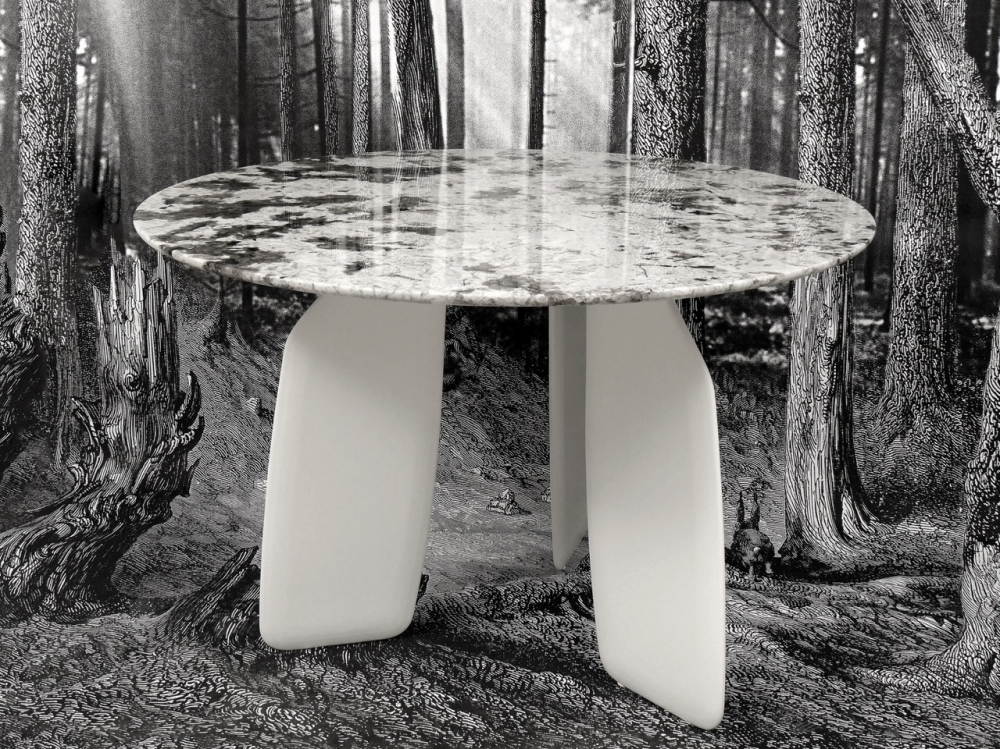 DINING TABLE BAVARESK - DESIGNER CHIRSTOPHE DE LA FONTAINE