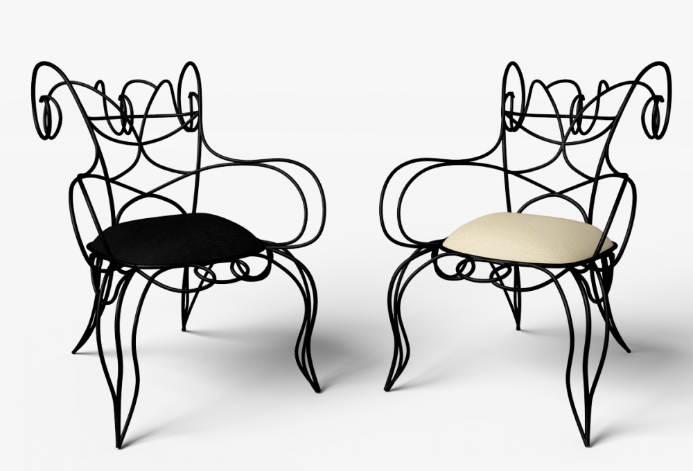 RAM ARMCHAIR BY ANDRÉ DUBREUIL